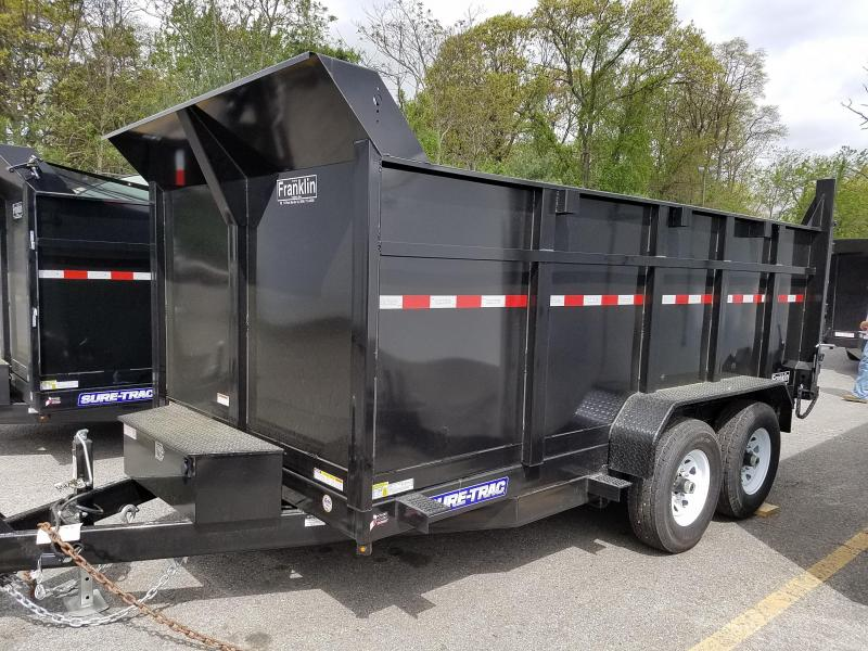 2019 Sure-Trac 82 IN X 14 LP 14K Dual Ram Dump 2019331 in Ashburn, VA