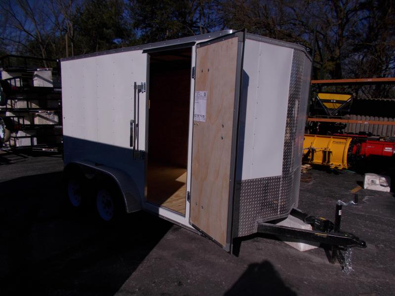 2019 Carry-On 6X12 Bull Nose Enclosed Cargo Trailer 2019907