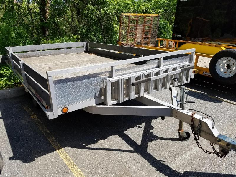 2007 Worthington Trailers Used 7x12 Aluminum Flatbed Trailer 2018731
