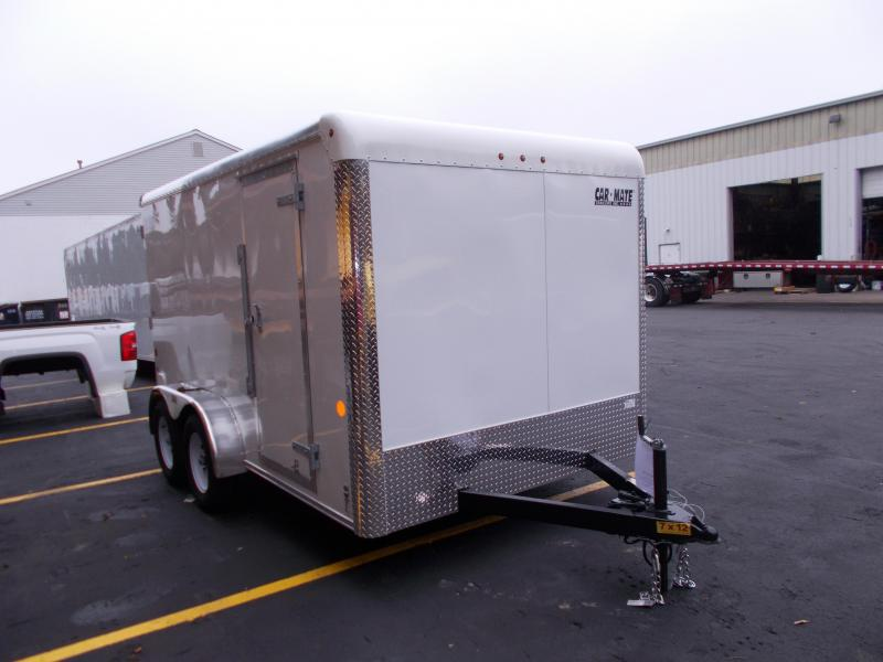 2019 Car Mate Trailers 7x12 Enclosed Cargo Trailer 2019565