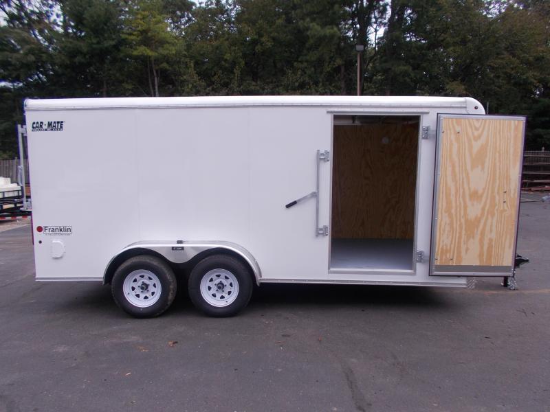 2020 Car Mate 7 X 16 - 7'W Tandem Axle Custom Cargo Trailer 2021026