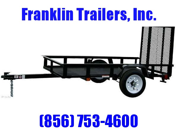 2019 Carry-On 4X6 Mesh Floor Utility Trailer 2019941