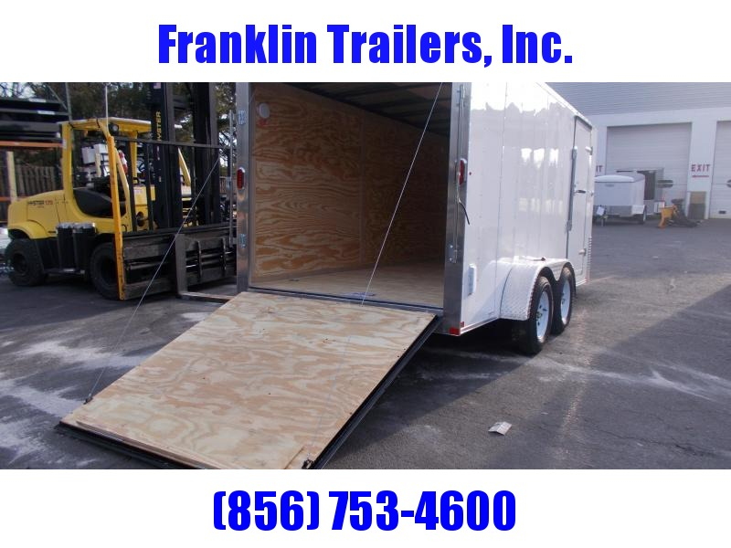 2019 Carry-On 7X16 Bull Nose Enclosed Cargo Trailer 2020344