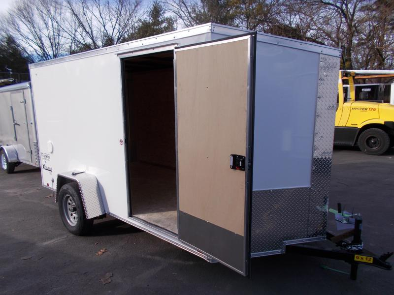 2019 Cargo Express 6x12 V-Nose Cargo / Enclosed Trailer 2020064