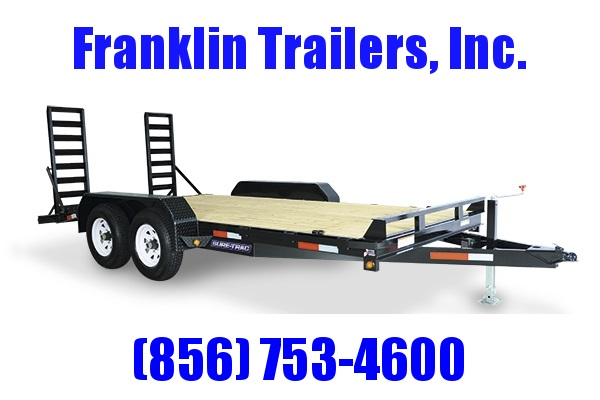 2019 Sure-Trac 7 x 18 Equipment Trailer  14K 2020827