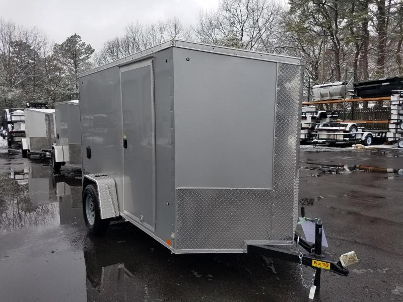2019 Cargo Express 6X10 V-Nose Enclosed Cargo Trailer 2020152