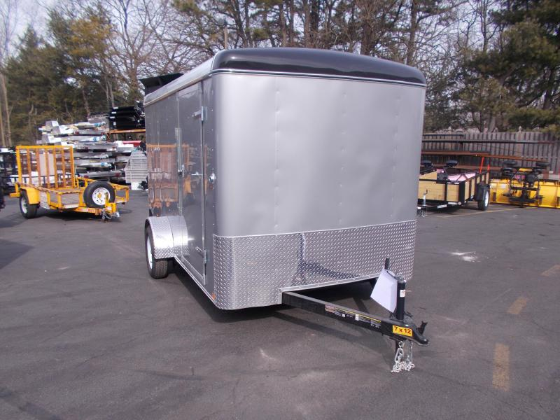 2019 Carry-On 7X12 Enclosed Cargo Trailer 2020298