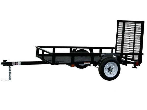 2018 Carry-On 5X8 - 2000 lbs. GVWR Mesh Floor Utility Trailer 2018225