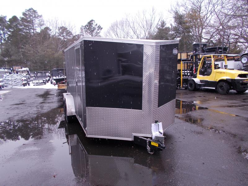 2020 Cargo Express 7x14 V-Nose Flat Top Cargo / Enclosed Trailer 2020087
