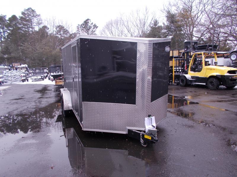 2020 Cargo Express 7x14 V-Nose Flat Top Cargo / Enclosed Trailer 2020087 in Ashburn, VA