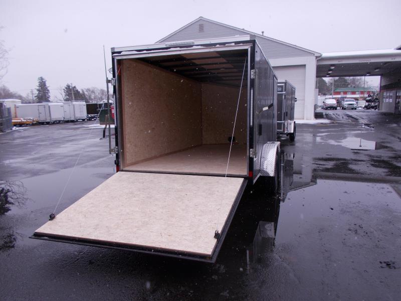 2020 Cargo Express 7x14 V-Nose Flat Top Cargo / Enclosed Trailer 2020087