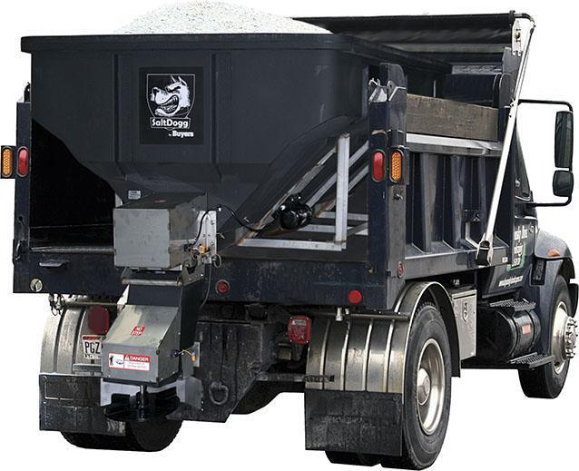 SaltDogg SHPE4000 4 cu yd Salt Spreader