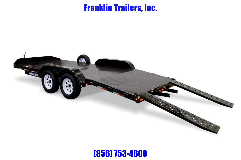 2019 Sure-Trac 7 x 18 Steel Deck Car Hauler  7k 2020451