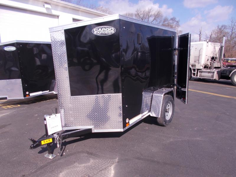 2020 Cargo Express 5x8 V-Nose Enclosed Trailer 2020292