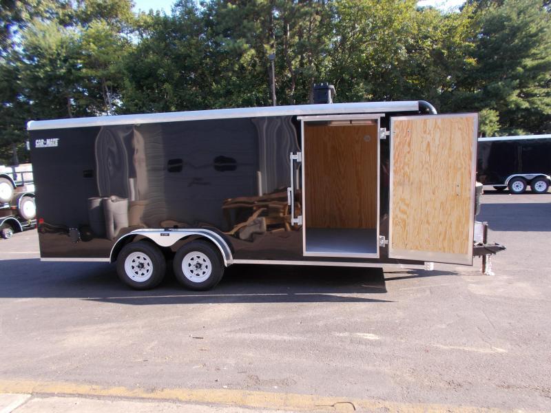 2019 Car Mate Trailers 7x18 - 7'W Tandem Axle Enclosed Cargo Trailer 2020932