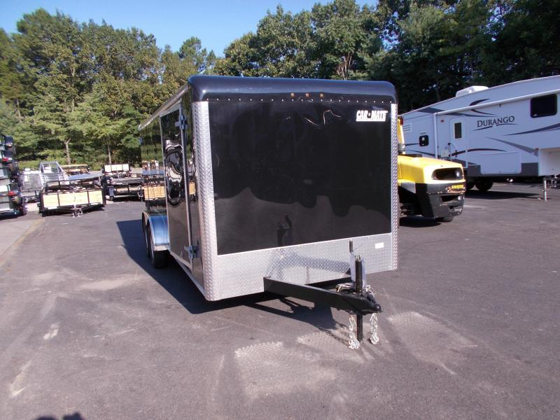 2019 Car Mate Trailers 7x18 - 7'W Tandem Axle Enclosed Cargo Trailer 2020932