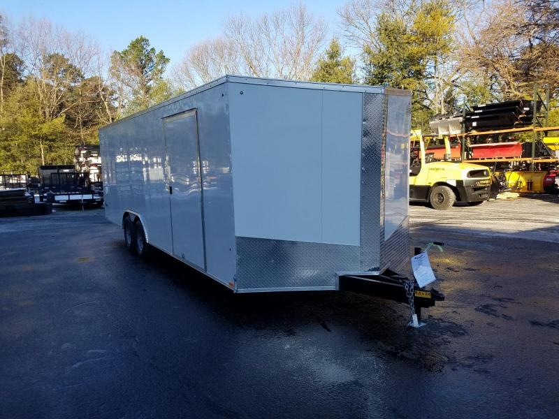 2019 Cargo Express 8.5X24 V-Nose Car / Racing Trailer 2019905 in Cleveland, NS