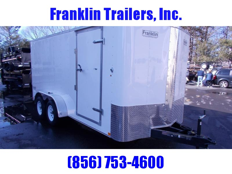 2019 Carry-On 7X16 Bull Nose Enclosed Cargo Trailer 2020195