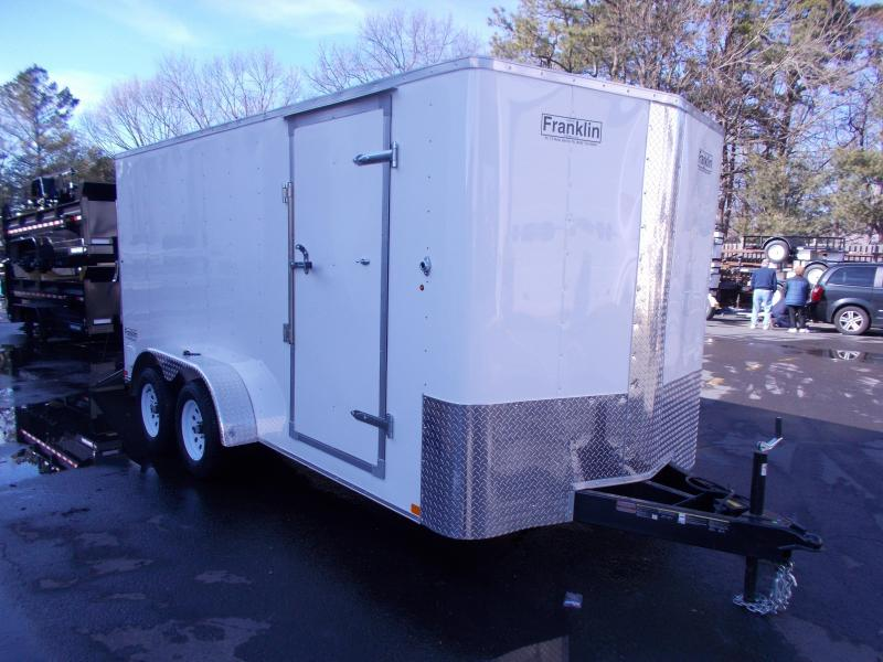 2019 Carry-On 7X16 V-Nose Enclosed Cargo Trailer 2020195