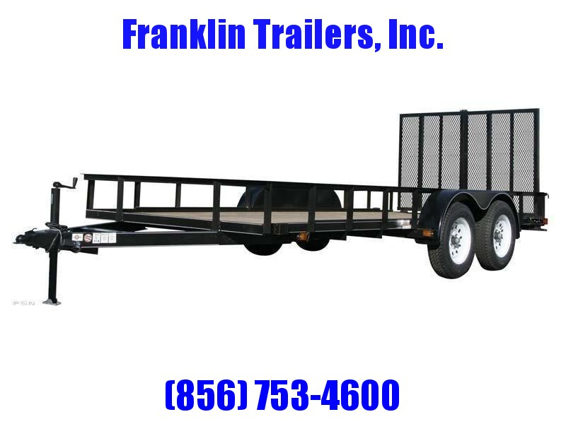 2020 Carry-On 6X14 7000 lbs. GVWR 6 ft. Tandem Wood Floor Utility Trailer 2020928