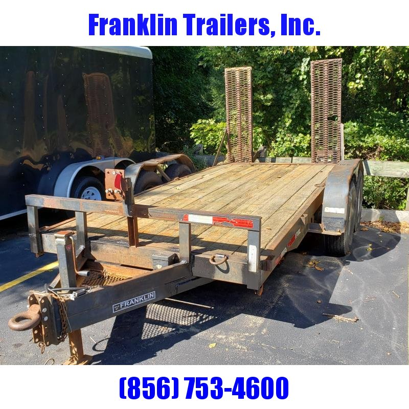 2003 Eagle Trailer 6.5x14 Equipment Trailer