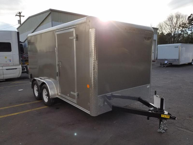 2019 Car Mate Trailers 7x14 Tandem Axle Enclosed Cargo Trailer 2020058