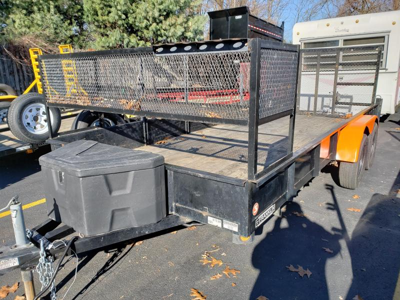 2016 Quality Steel and Aluminum Used 6x16 Utility Trailer