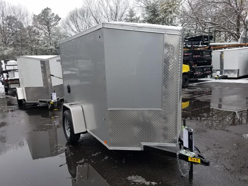 2019 Cargo Express 5X8 V-Nose Enclosed Cargo Trailer 2020151