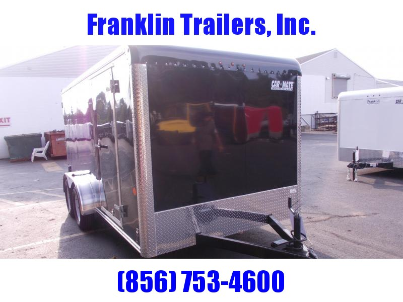 2019 Car Mate  7X14 -  Enclosed Cargo Trailer 2021046