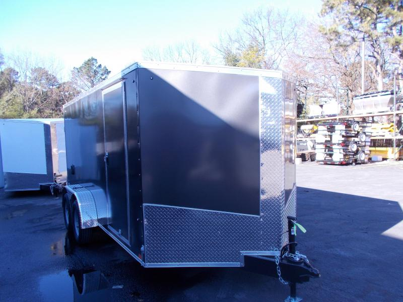2019 Cargo Express 7x14' V-Nose Cargo  / Enclosed Trailer 2019714