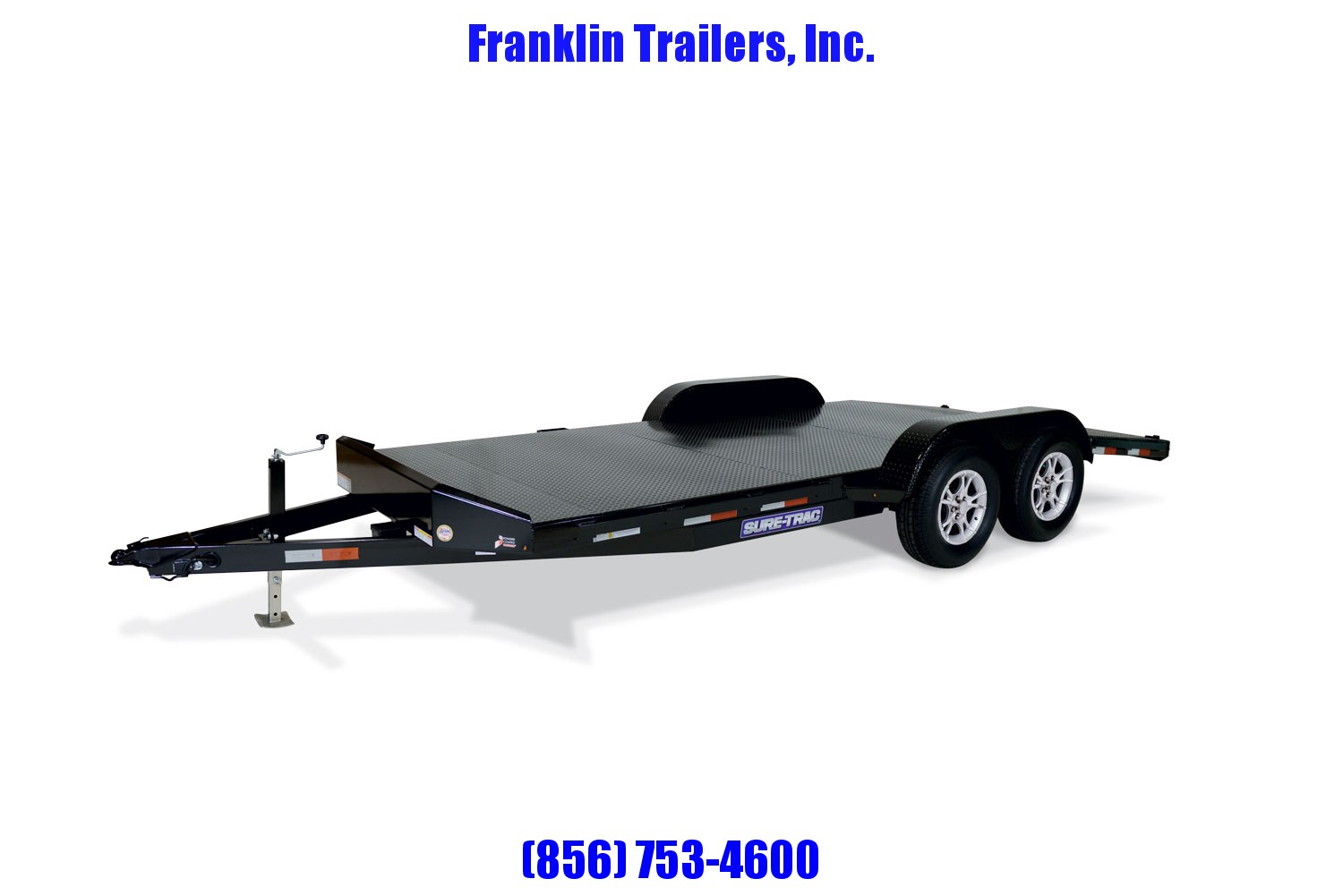 2020 Sure-Trac 7 x 18 Steel Deck Car Hauler  10k 2021035