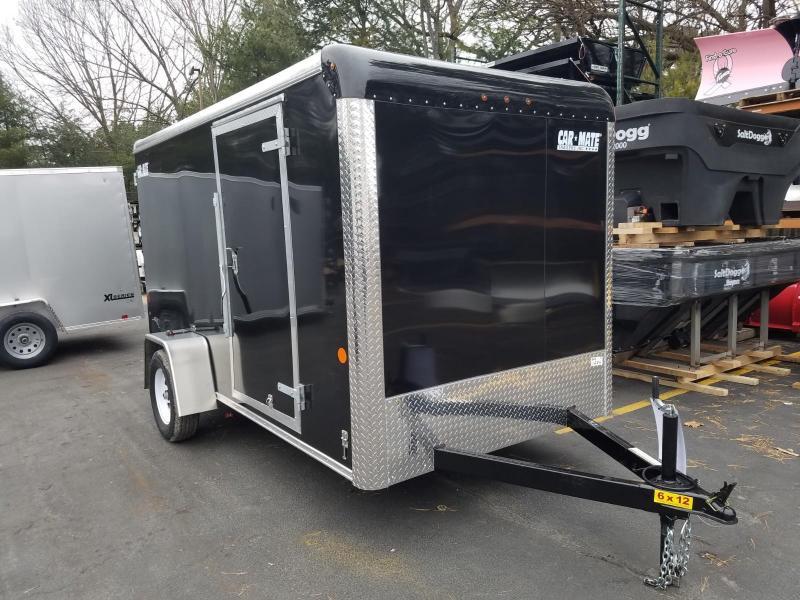 2019 Car Mate Trailers 6x12 Enclosed Cargo Trailer 2019766