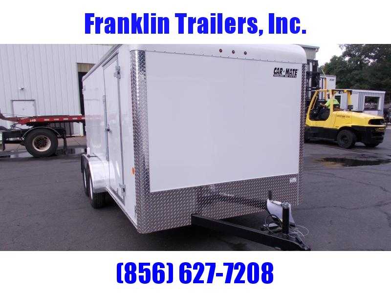 2019 Car Mate Trailers 7x14 - 7'W Tandem Axle Enclosed Cargo Trailer 2020939