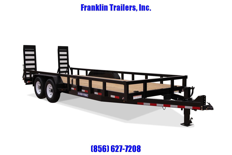 2019 Sure-Trac 7 x 18 14K Heavy Duty Equipment Trailer 2020714