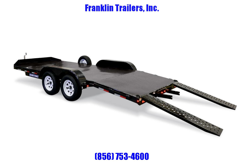 2019 Sure-Trac 7 x 18 Steel Deck Car Hauler  7k 2020603