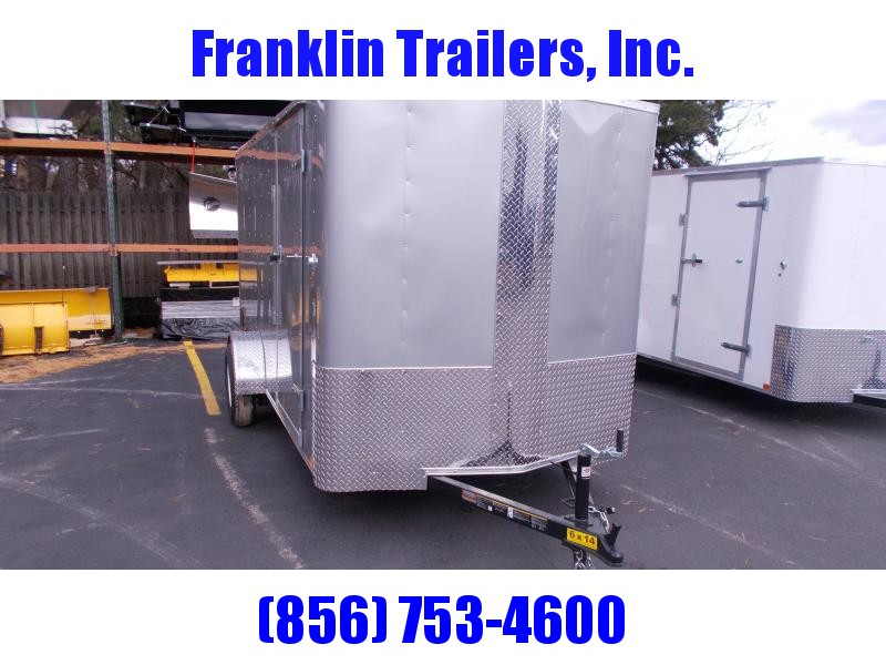 2019 Carry-On 6X14 Bull Nose Enclosed Cargo Trailer 2019696