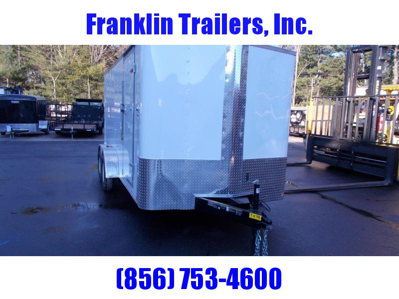 2019 Carry-On 7x16 Bull Nose Enclosed Cargo Trailer 2019837