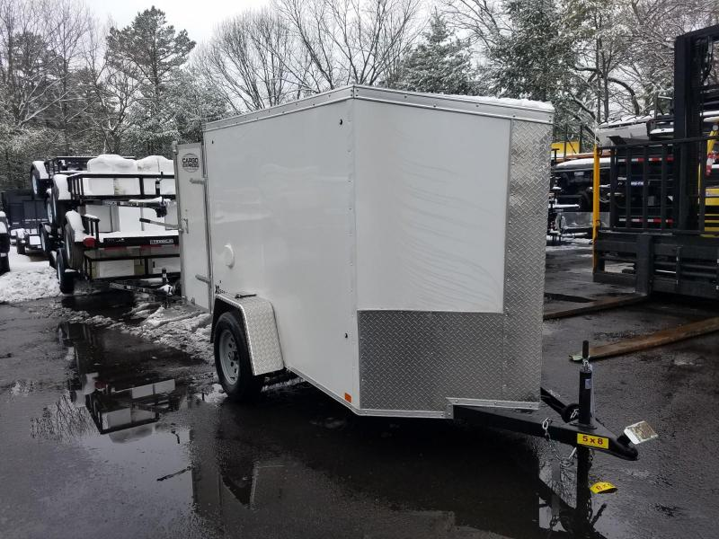 2019 Cargo Express 5X8 V-Nose Enclosed Cargo Trailer 2020150