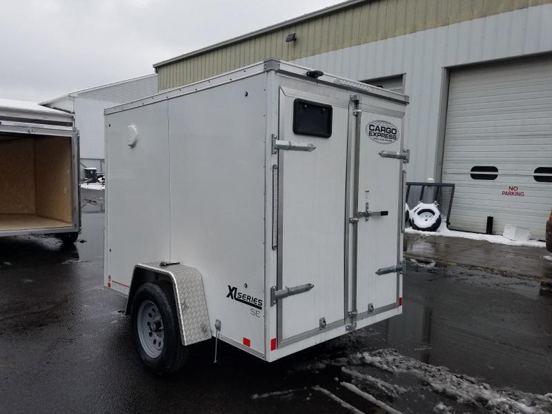 2019 Cargo Express 5X8 V-Nose Enclosed Cargo Trailer 2020150