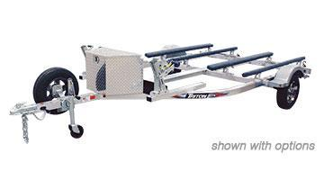 2018 Triton Trailers Aluminum Double Watercraft Trailer 2019181