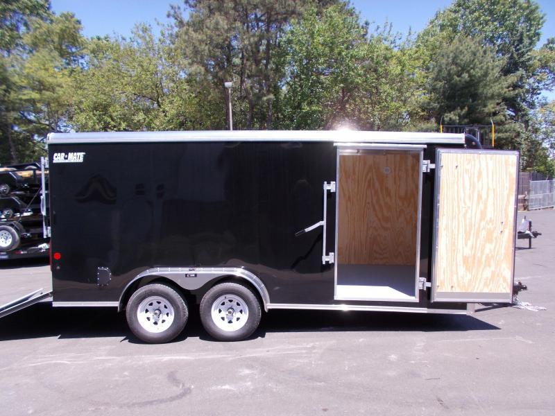 2020 Car Mate Trailers CM716CC-HD - 7W Tandem Axle Custom Cargo Trailer Enclosed Cargo Trailer