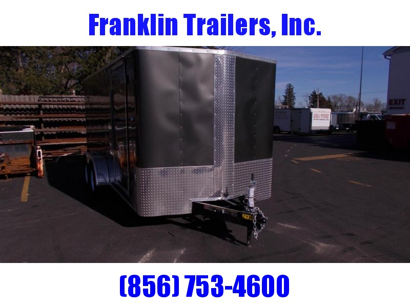 2019 Carry-On 7x16 Bull Nose Enclosed Cargo Trailer 2019880