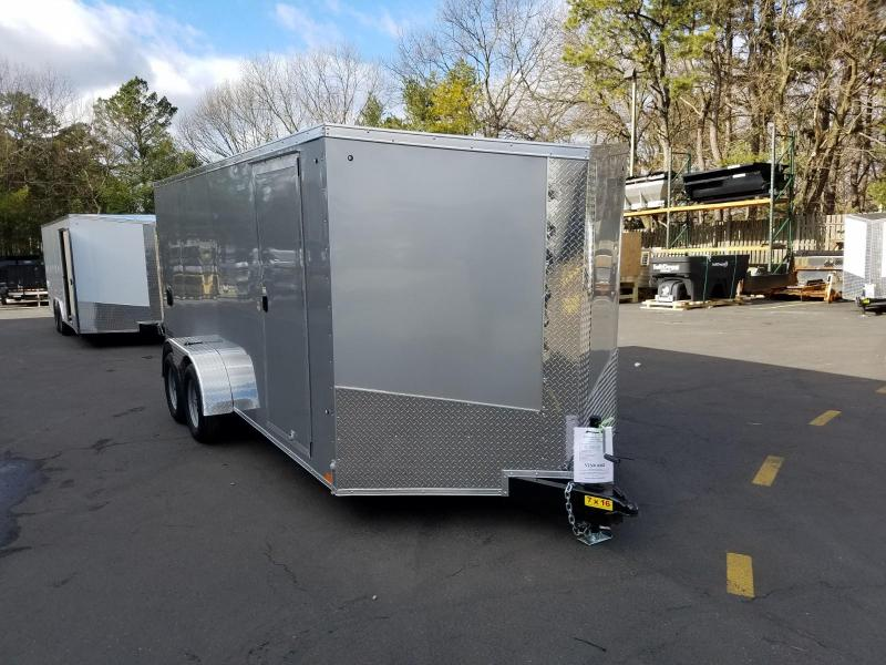 2019 Cargo Express 7X16 V-Nose Enclosed Cargo Trailer 2019874