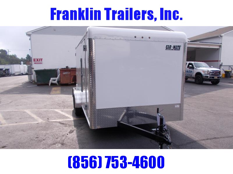 2019 Car Mate Trailers 7x14 - 7'W Tandem Axle Enclosed Cargo Trailer 2020940
