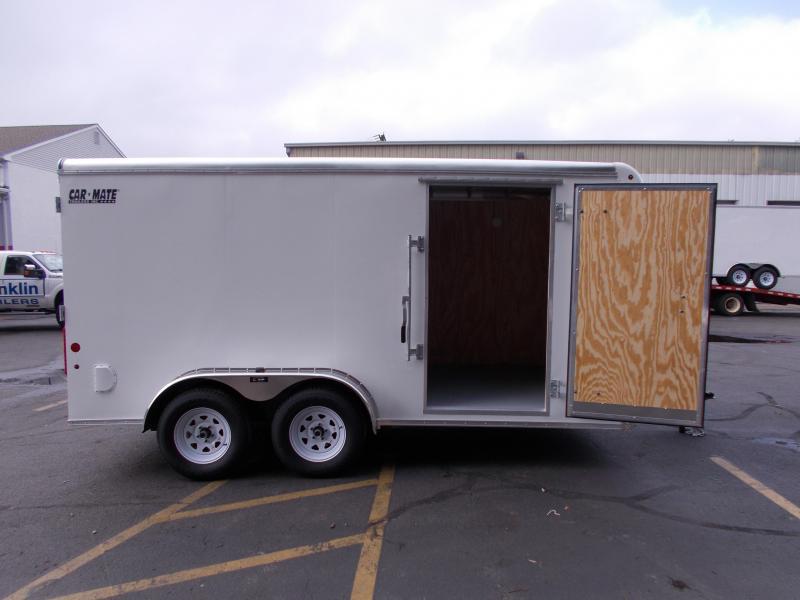 2019 Car Mate Trailers 7x14 - 7'W Tandem Axle Enclosed Cargo Trailer 2020940