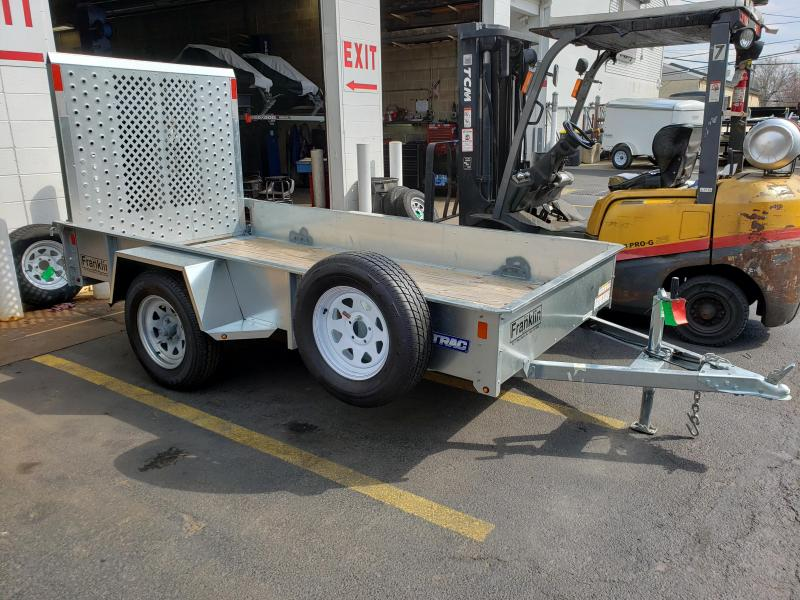 2018 USED Sure-Trac 5 x 10 Galvanized High Side Utility Trailer 2020423