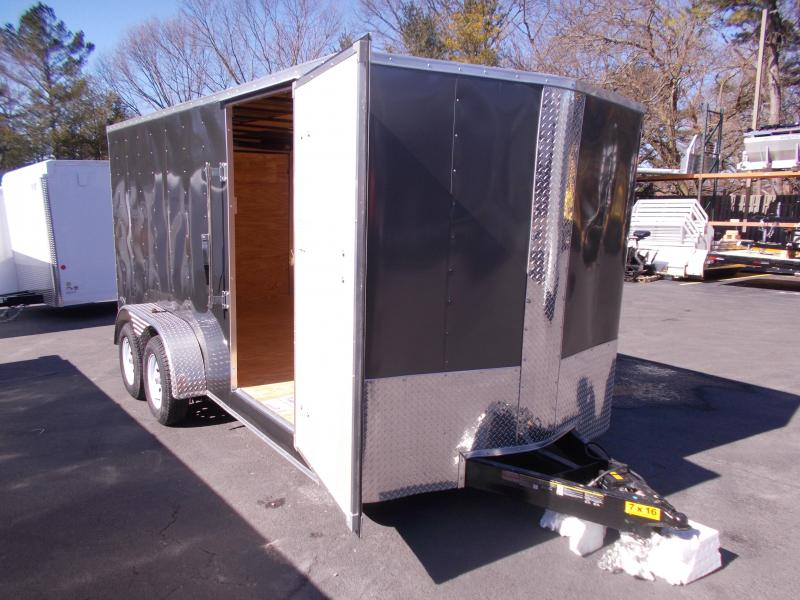 2019 Carry-On 7X16 Bull Nose Enclosed Cargo Trailer 2020254