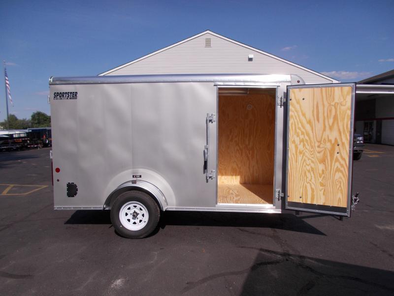 2020 Car Mate Trailers 6x12 Enclosed Cargo Trailer 2020795