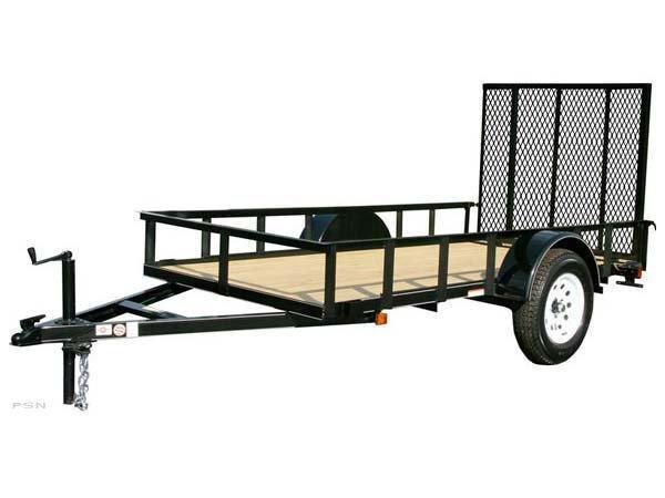 2018 Carry-On 5X12 Wood Floor Utility Trailer 2020096