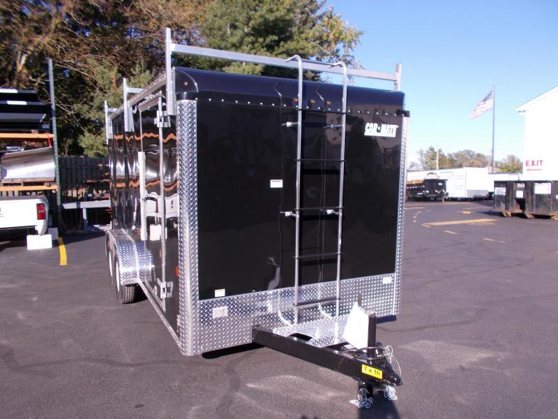 2019 Car Mate Trailers 7x16 Contractor Enclosed Cargo Trailer 2019613